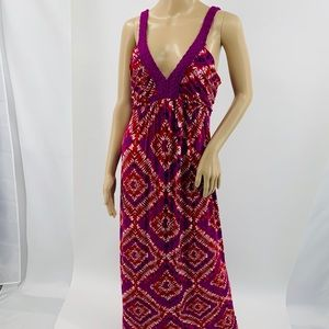 Design History Maxi Dress with Braided Neck